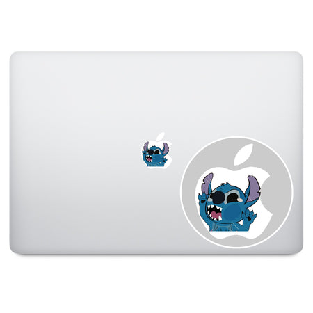 Wall-E and Eve MacBook Decal