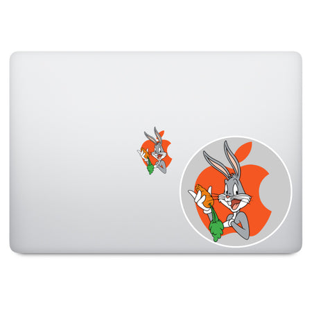 Sponge Bob Apple Logo MacBook Decal V2