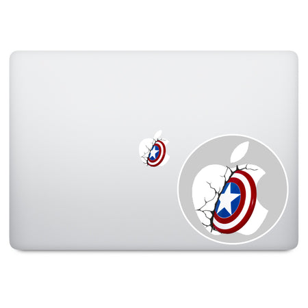 Bugs Bunny Apple Logo MacBook Decal