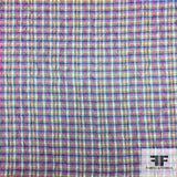 French Plaid Brocade - Multicolor