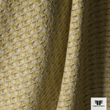 Multicolor Woven Suiting - Yellow/Beige/Brown