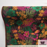 Tropical Floral Brocade- Multicolor