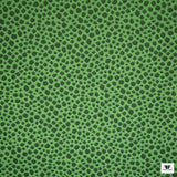 Polka Dot Brocade - Neon Green/Black