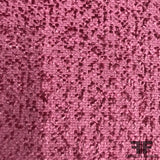 Textured Italian Wool Suiting - Pink