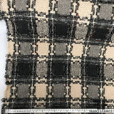 Checkered Wool Tweed - Multicolor