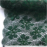 Couture Beaded Lace - Emerald Green - Fabrics & Fabrics NY