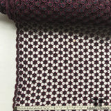 Couture Geometric Beaded Lace - Purple - Fabrics & Fabrics NY