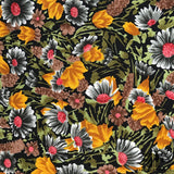 Floral Silk Twill - Multicolor