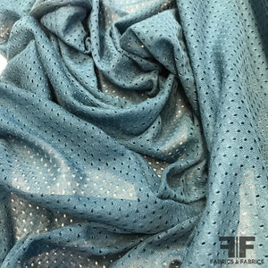 Athletic Mesh/Knit - Indigo - Fabrics & Fabrics NY