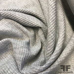 Thermal Knit - Heather Grey