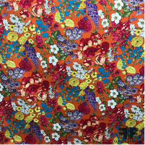 Italian Floral Bloom Printed Cotton - Multicolor