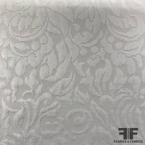 Floral Brocade - White