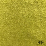 Wool Coating - Green - Fabrics & Fabrics