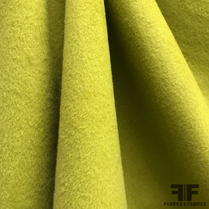 Wool Coating - Green