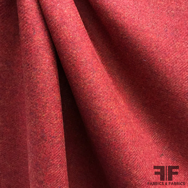 Wool Suiting - Red