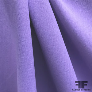 Wool Double Crepe - Purple