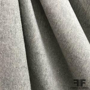 Italian Wool Coating - Grey