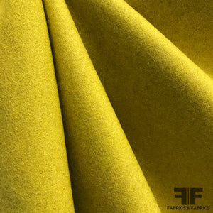 Italian Wool Suiting - Mustard Yellow