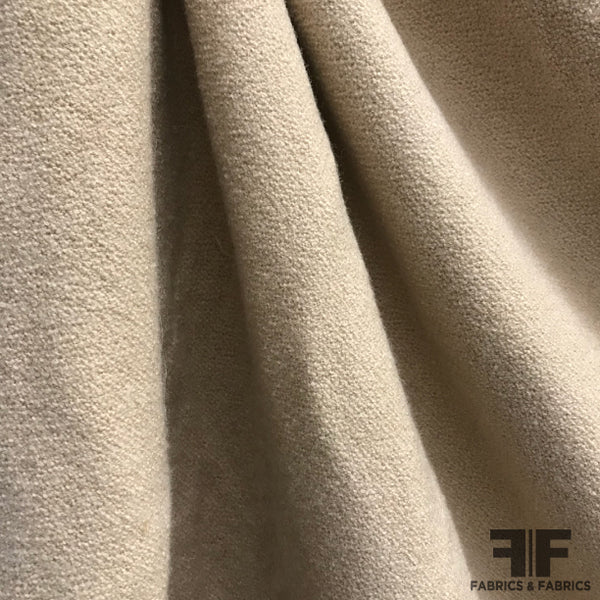 Solid Wool Knit - Beige