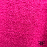 Solid Wool Boucle - Magenta