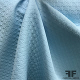 Houndstooth Brocade - Light Blue