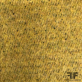 Italian Double Faced Wool - Mustard Yellow/Grey