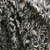 Abstract Sequins - Silver/Black - Fabrics & Fabrics NY