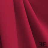 Double Faced Wool Crepe - Cranberry - Fabrics & Fabrics NY