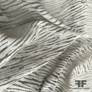 Semi Sheer Lightweight Jersey - Light Grey - Fabrics & Fabrics