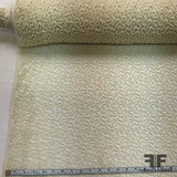 Couture Swivel Beaded Netting - Ivory - Fabrics & Fabrics NY