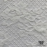 French Classic Floral Lace - White