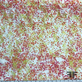 Warm Color Floral Printed Cotton - Red/Orange - Fabrics & Fabrics