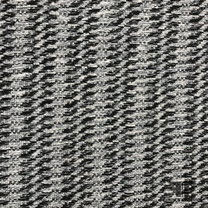 French Wool/Cotton Blend Tweed - Grey / Black / Silver - Fabrics & Fabrics