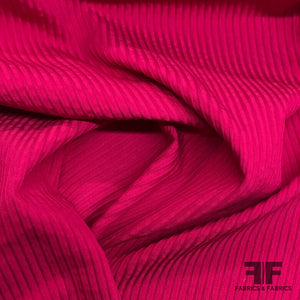 Textured Striped Brocade - Pink - Fabrics & Fabrics