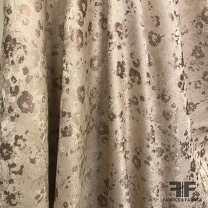 Abstract Neutral Brocade - Beige/Ivory - Fabrics & Fabrics