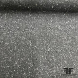 Italian Wool Suiting - Speckled Grey - Fabrics & Fabrics
