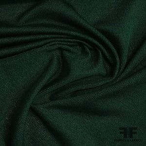 Mid-weight Rib Knit - Green - Fabrics & Fabrics