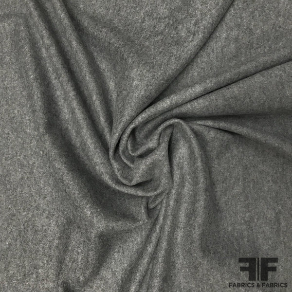 Light-Weight Wool Coating - Grey