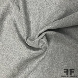 Italian Double-Faced Wool Coating - Grey/Taupe