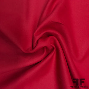 Wool Coating - Strawberry Red