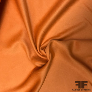Wool Coating - Orange