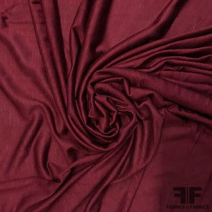 Feather-weight Sheer Jersey - Burgundy