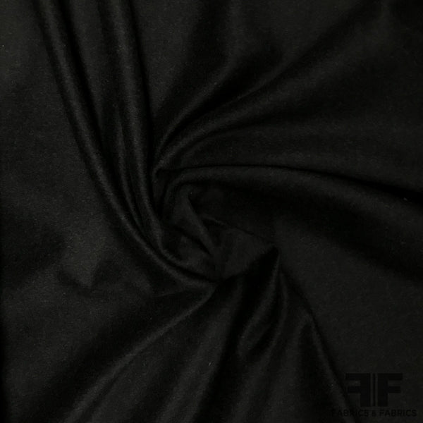 Double-Faced Wool Coating - Slate Grey - Fabrics & Fabrics