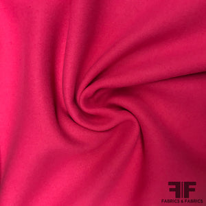 Heavy Wool Coating - Bubblegum Pink