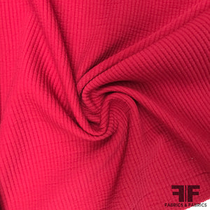 Cotton Suiting - Strawberry