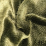 Faux Fur - Olive Green