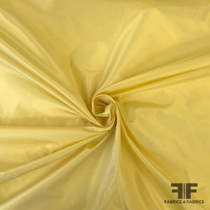 Solid Silk Taffeta - Canary Yellow