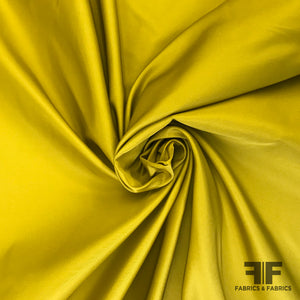 Italian Solid Satin Faced Taffeta - Chartreuse