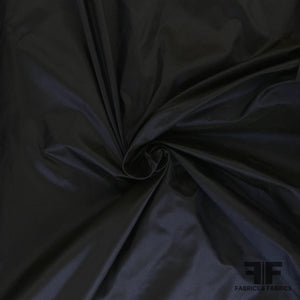 Solid Silk Taffeta - Midnight Blue