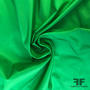 Solid Silk Taffeta - Green